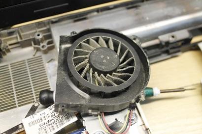 Проблема - пыль на радиаторе охлаждения