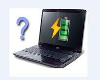 Батарея в операционной системе определяется, но не заряжается.